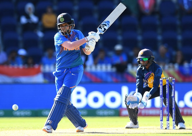 Shafali Verma slammed 34-ball 47 as India cruised to victory.