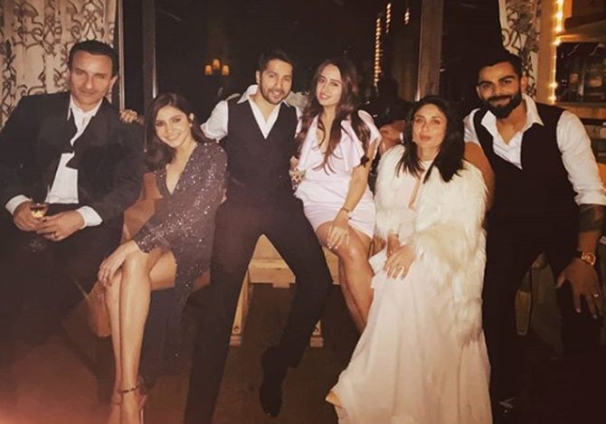 PIX: Virat and Anushka welcome the New Year in style ...