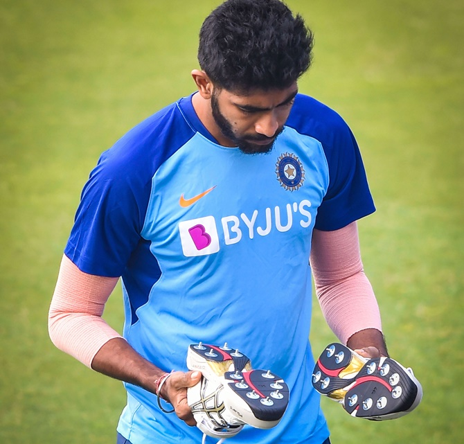'Bumrah isn't shy of hitting us on head, ribs in nets'