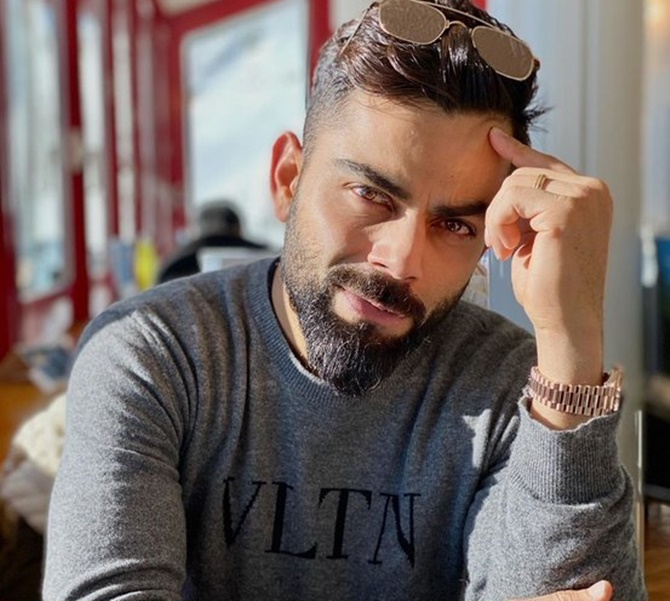 Kohli reveals story behind his nickname 'Chiku'