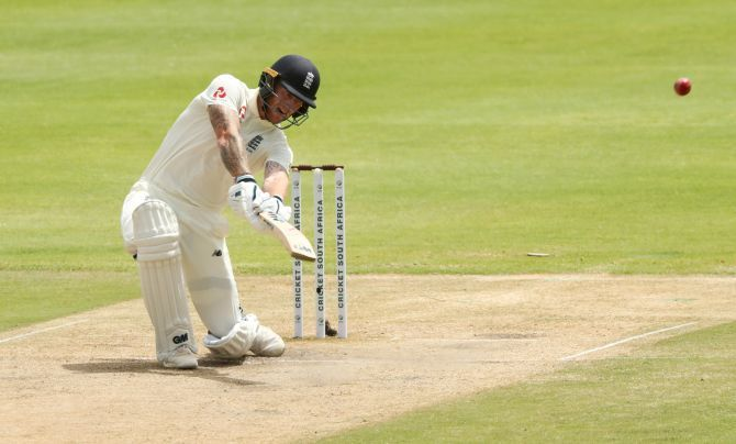 Ben Stokes powered his way through a 47-ball 72