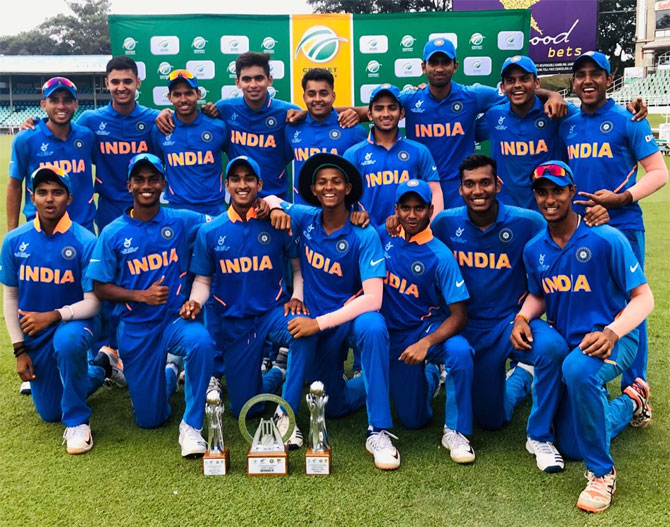 U 19 World Cup: India start firm favourites