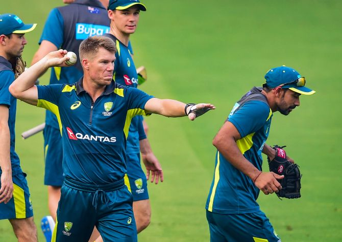 Bizarre: Warner on playing without fans