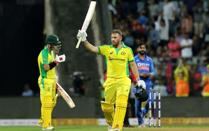 Australia made short work of the 255-run target, racing to a resounding victory in 37.4 overs with Warner (128 not out off 112) and Finch (110 not out off 114) smashing unbeaten centuries