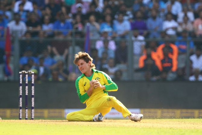 Adam Zampa is tied with West Indies' Ravi Rampaul for dismissing Kohli the most number of times (6) in white-ball cricket.
