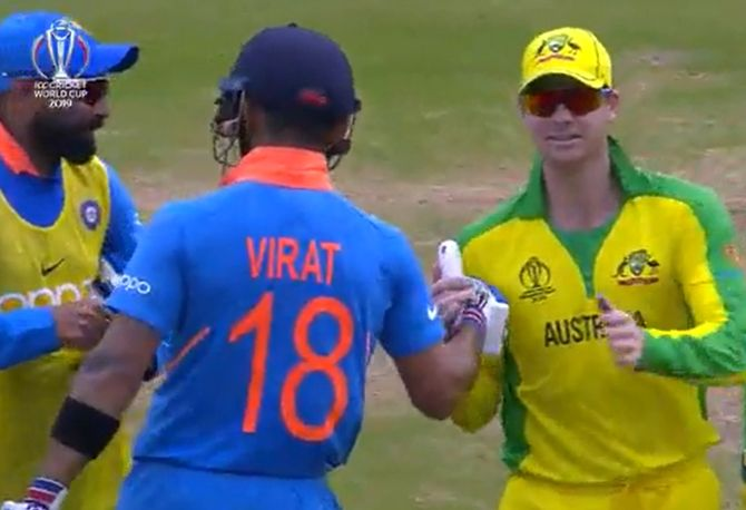 Steve Smith appreciates Virat Kohli for his gesture during their 2019 ICC World Cup match
