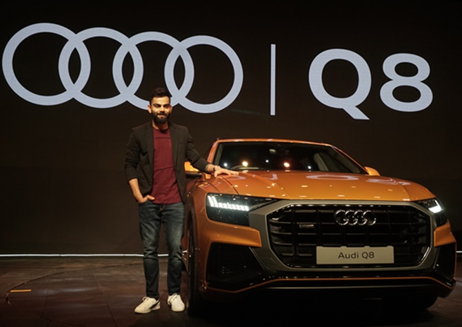 Audi Q8 is a sporty sedan and distinguished SUV in one