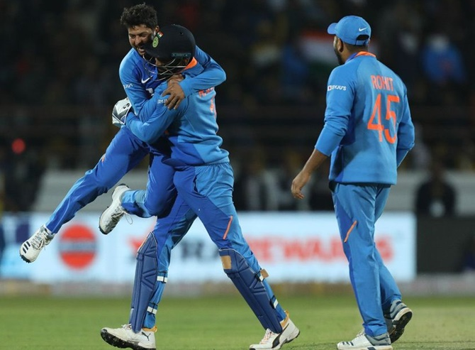 PHOTOS: Kuldeep, Rahul star in series-levelling win