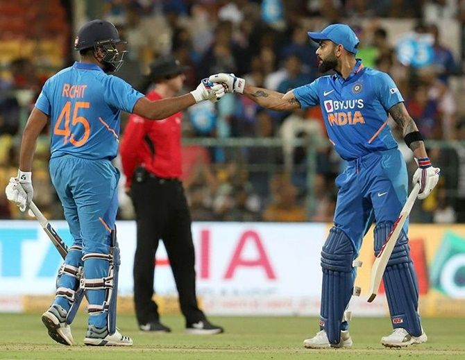 The India duo of Virat Kohli and Rohit Sharma continue to dominate the ICC ODI rankings