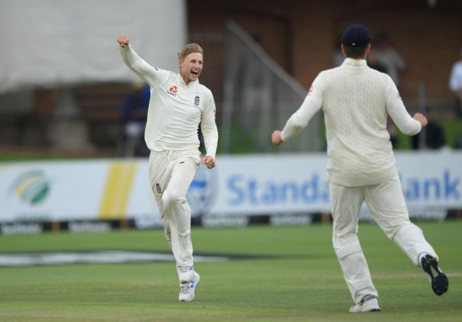 PHOTOS: Root leads England to brink of victory
