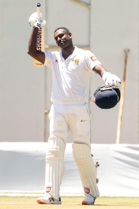 1st Test: Mathews's double ton puts SL in control