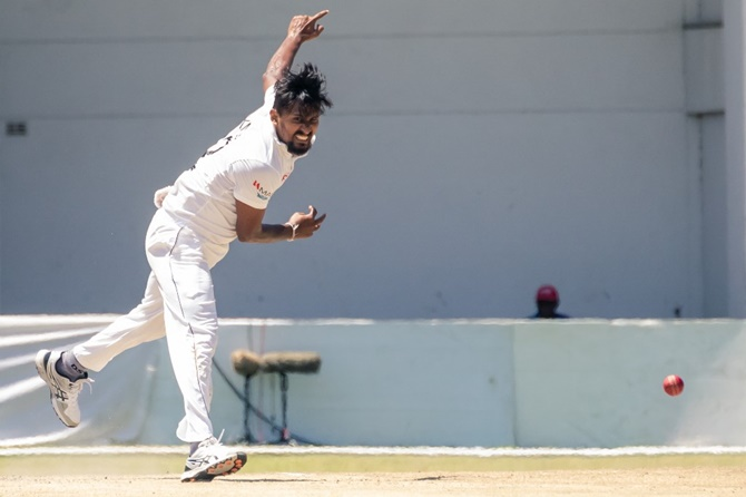Lakmal bowls SL to 10-wkt win over Zimbabwe