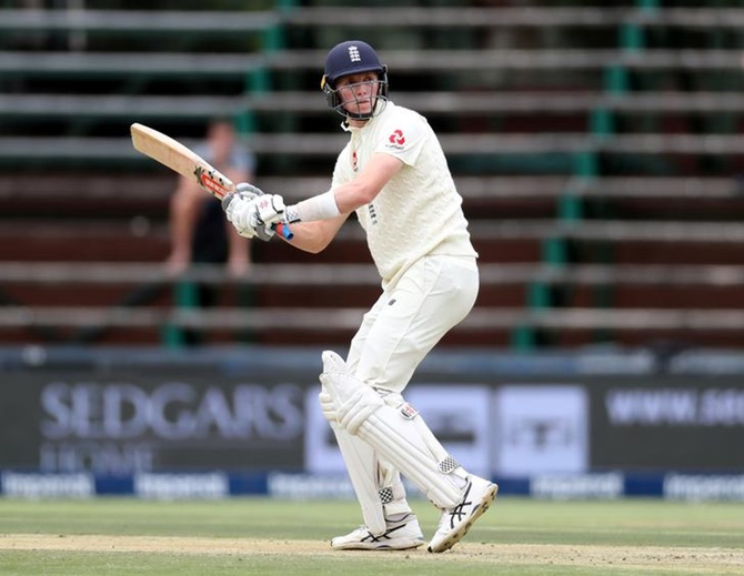 England's Zak Crawley in action on Day 1 of the fourth Test against South Africa at the Wanderers in Johannesburg, on Friday.