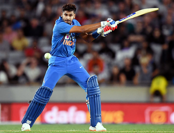 PHOTOS: Iyer's blitzkrieg lifts India to victory