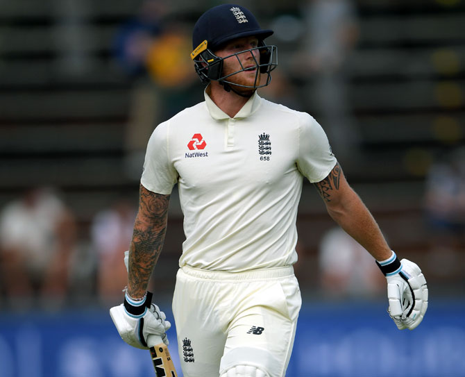 Stokes fined after foul language rant at spectator