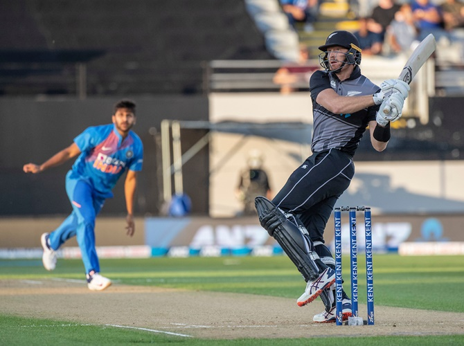 Why New Zealand's batsmen flopped in Auckland T20I
