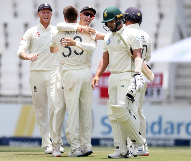 PHOTOS: South Africa vs England 4th Test, Day 3