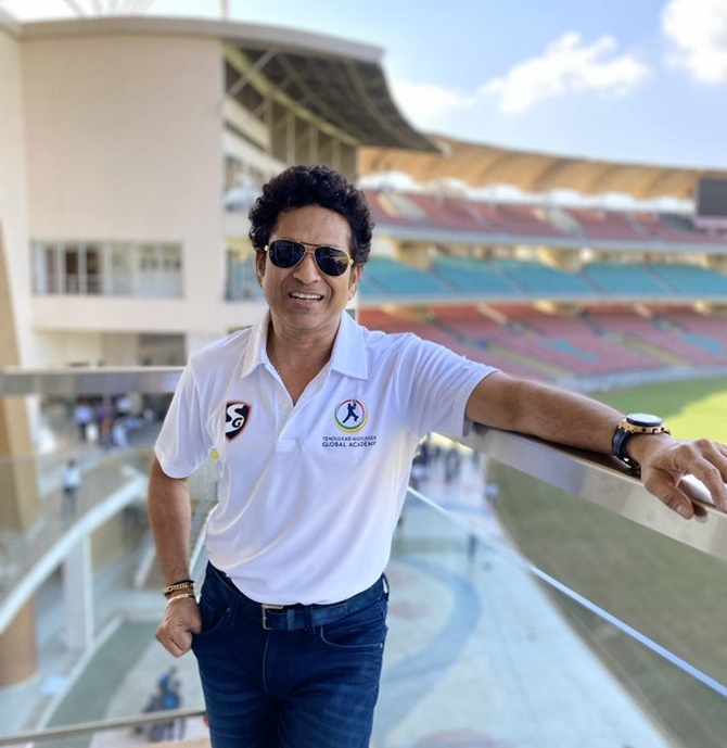 Sachin launches Tendulkar Middlesex Global Academy