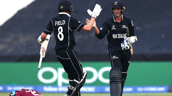 NZ overcome Windies to make U-19 WC semis