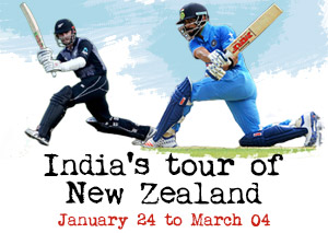 India's tour of New Zealand 2020
