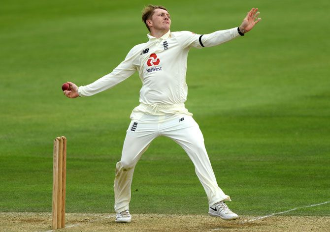22-year-old England spinner Dom Bess took two wickets in the first innings of the opening Test against the West Indies at Southampton but went wicketless on the final day as visitors chased down a 200-run target to claim a four-wicket win.
