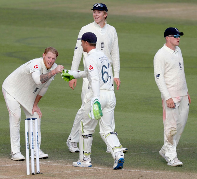 Stokes joins game's greats as he does Test double