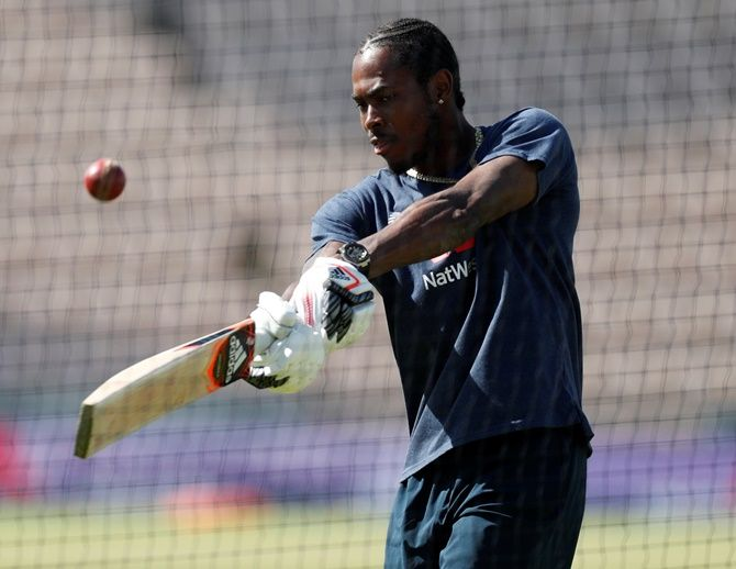 England bowler Jofra Archer said: 'I think it is a bit harsh for Michael Holding to not do some research before criticising. I'm pretty sure he doesn't know what is going on behind the scenes.'