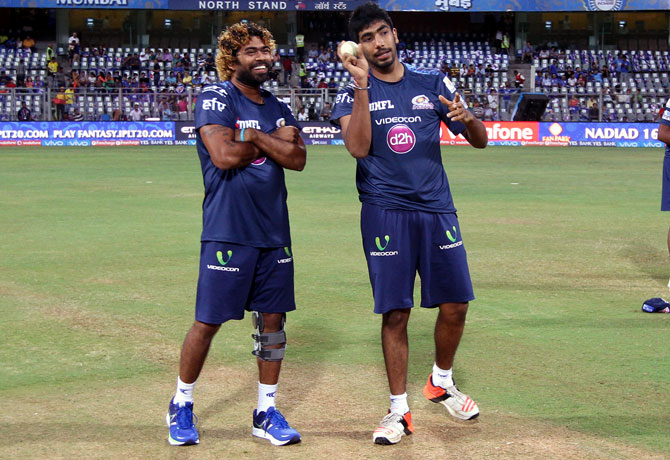 Malinga is world's best yorker bowler, says Bumrah