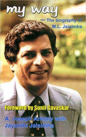 My way--the biography of M.L. Jaisimha