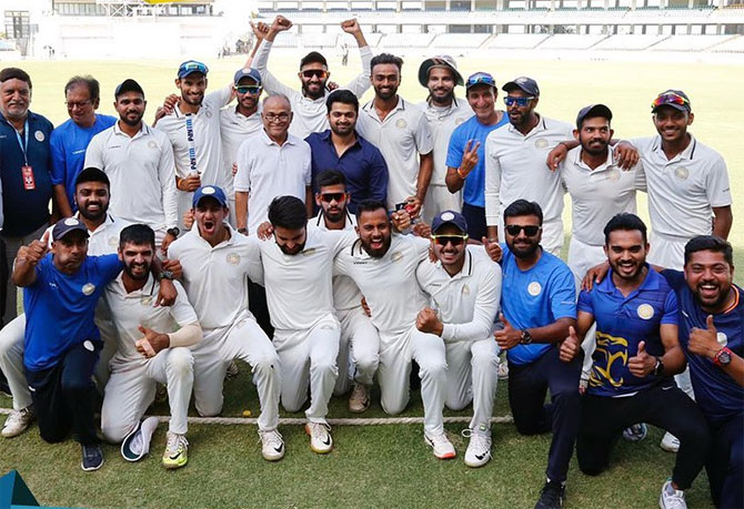 Unadkat fires Saurashtra to maiden Ranji Trophy title
