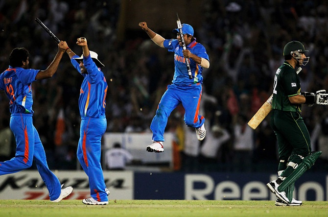 This day in 2011: India defeated Pak to enter WC final