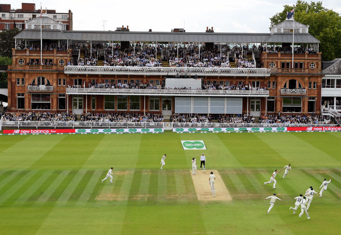 Lord's cricket ground lends support to medical staff