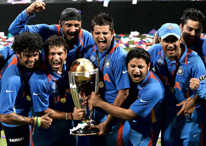 Revealed! How Sreesanth played 2011 World Cup final! - Rediff Cricket
