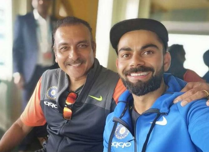 Ravi Shastri and Virat Kohli have formed a 'mutual admirers club' over the years