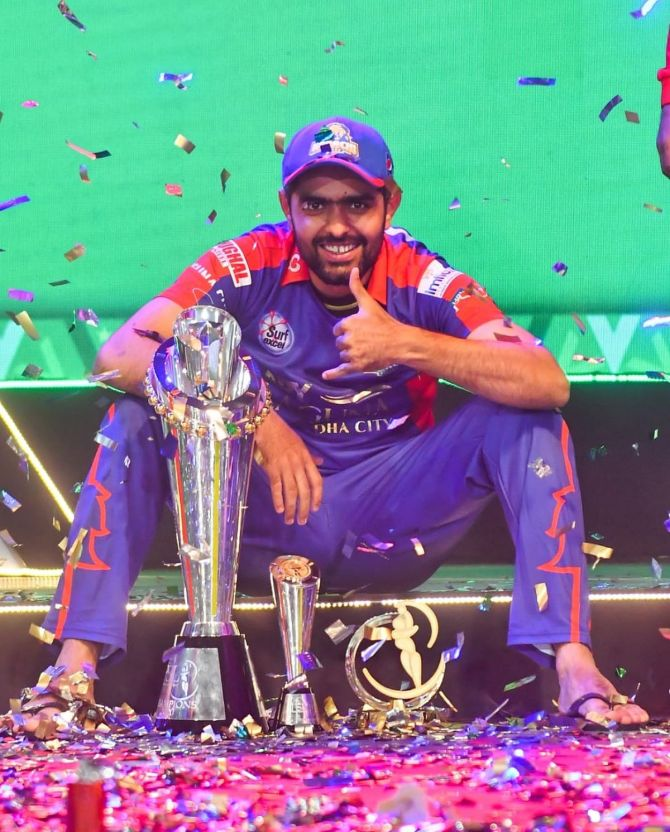 Babar Azam was named 'Player of the tournament' and 'Batsman of the Tournament' in PSL 2020.