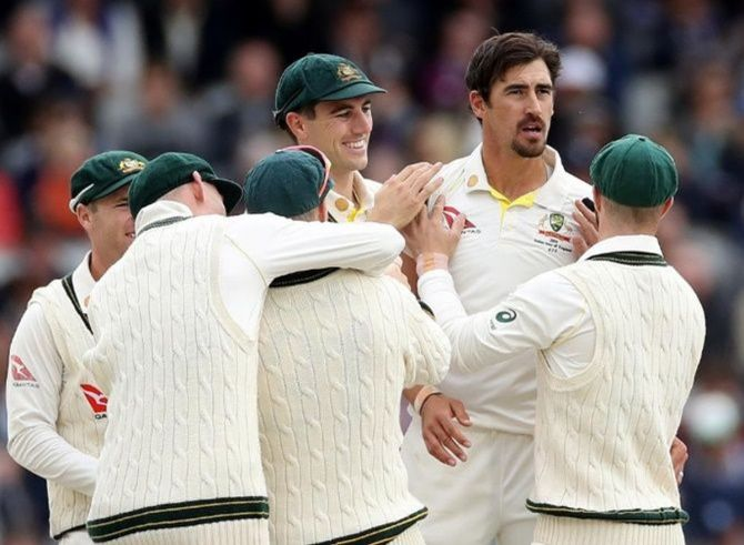 'I think the Australian bowling attack of Cummins, Starc, Hazelwood, Pattinson, Neser, Lyons, Swepson look a stronger and more balanced attack than India, especially if Ishant is not available'