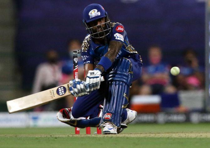 Suryakumar Yadav powered Mumbai Indians to a huge total, finishing unbeaten on 79 off 47 balls against Rajasthan Royals on Tuesday