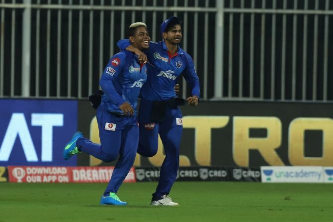 Delhi Capitals will hope for a good showing from skipper Shreyas Iyer and Shimron Hetmyer when they take on Mumbai Indians in Sunday's IPL match in Abu Dhabi.