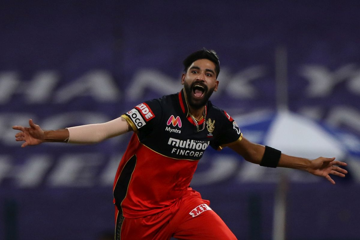 The story of IPL 2021 has been... Siraj