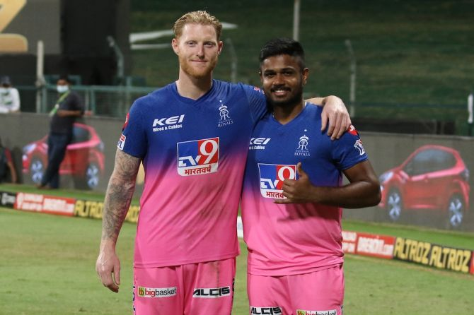 Rajasthan Royals would expect star all-rounder Ben Stokes and captain Sanju Samson this season in order to book a play-offs berth