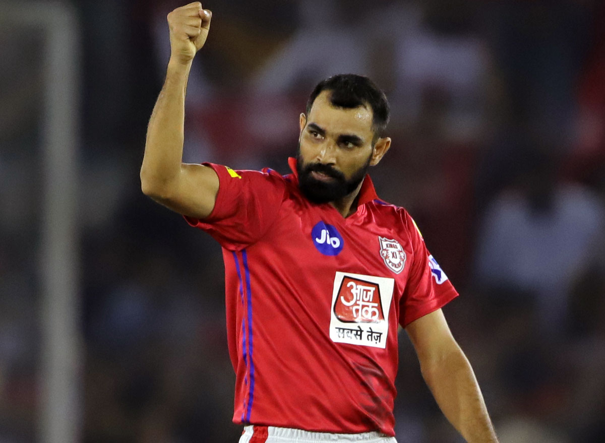IPL: Shami hoping luck favours KXIP this season