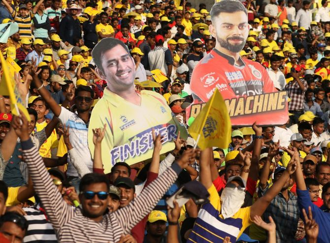 'Now fans are looking forward to seeing some live cricket, so I feel this year's viewership will be highest ever and this year's IPL should be bigger than last year as well.'