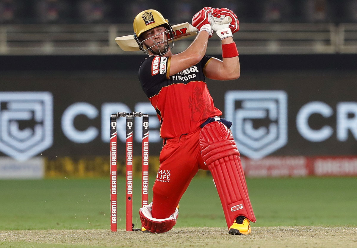I surprised myself: De Villiers