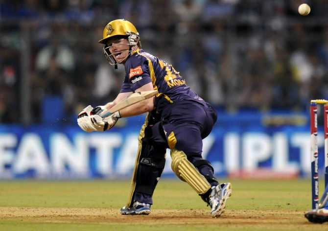 KKR and England captain Eoin Morgan