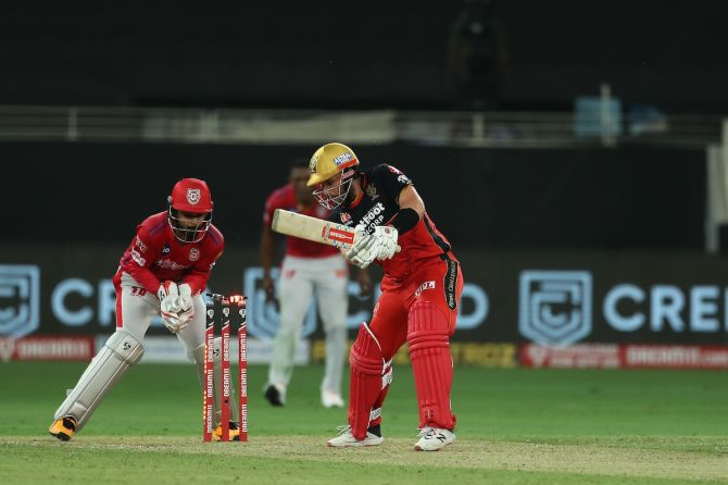 Aaron Finch is bowled by Ravi Bishnoi