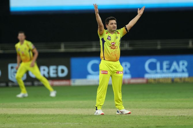 Spinner Piyush Chawla got two wickets against Delhi