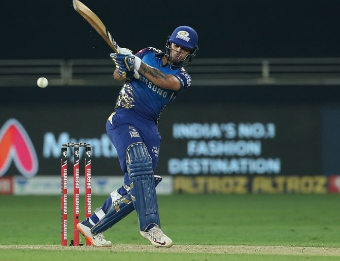 Ishan Kishan struck 173 off just 94 balls to lead Jharkhand to a massive 324-run victory over Madhya Pradesh in their Vijay Hazare Trophy Group B match in Indore on Saturday.