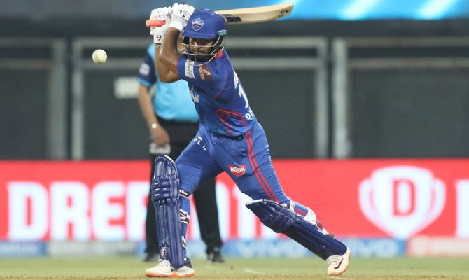 Rishabh Pant scored 51 off 32 balls but Delhi Capitals could only muster only 147 in their 20 overs