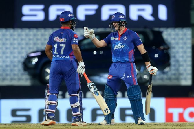 Delhi Capitals have a strong middle order with the presence of Rishabh Pant and Steve Smith