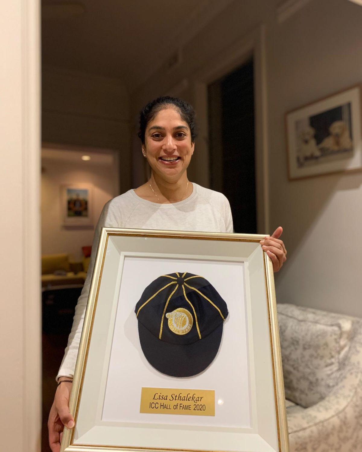 Lisa Sthalekar was inducted into the ICC Cricket Hall of Fame in August 2020.